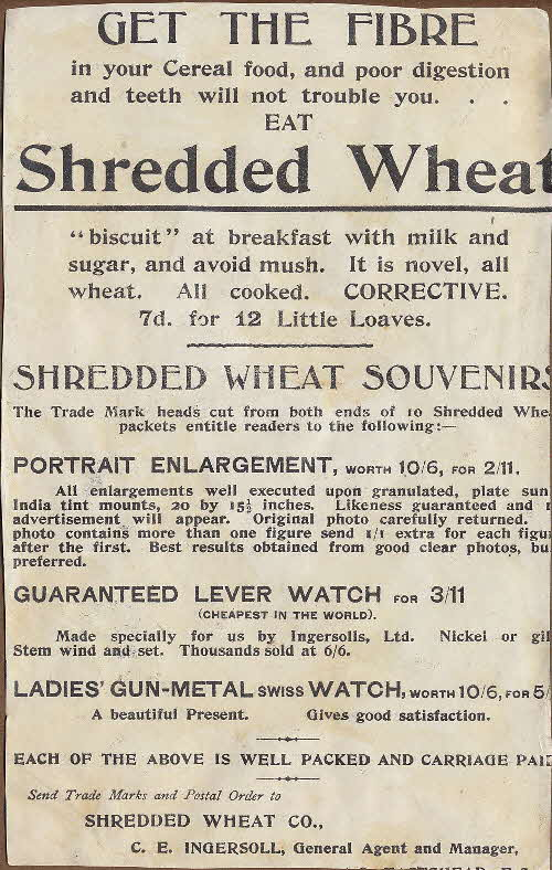 1930s Shredded Wheat Souvenirs (2)
