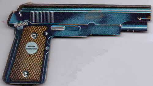 1959 Shredded Wheat Super guns pistol