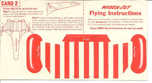 1957 Shredded Wheat Whizza Jet wings