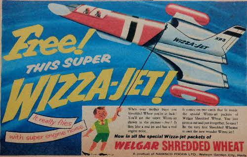 1957 Shredded Wheat Wizza Jet1