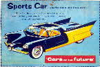 1957 Shredded Wheat Cars of the Future Sports Car
