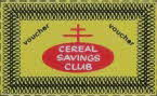 1960s Shredded Wheat 6d off vocuher & Cereal CLub Offer front1