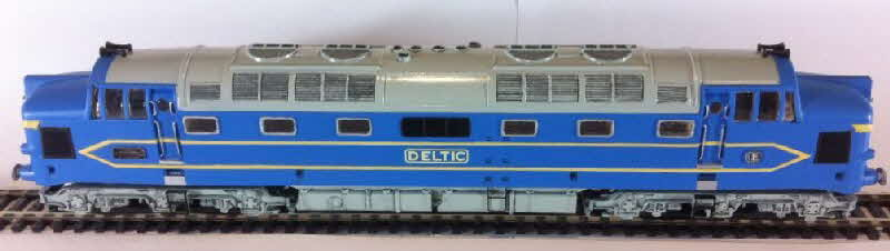 1962 Shredded Wheat Kitmaster models - english Electric 3300 hp deltic made