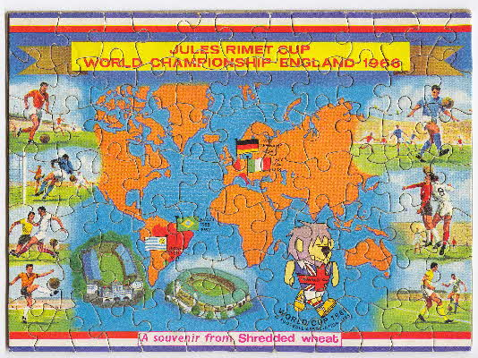 1966 Shredded Wheat World Cup Jigsaw1