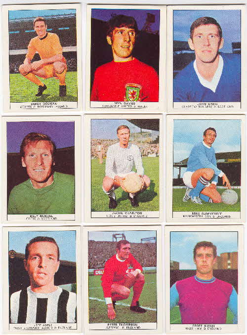 1970 Shredded Wheat Famous Footballers 2