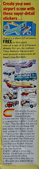 1973 Shredded Wheat Airport stickers pkt (1)