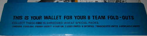 1971 Shredded Wheat Soccer Team Fold Out Wallet (4)
