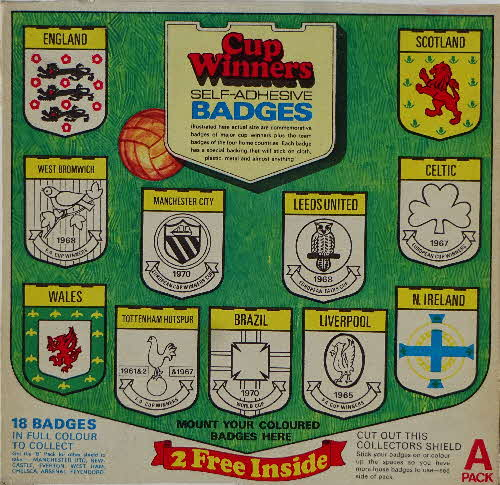 1971 Shredded Wheat Cup Winners Badges (1)