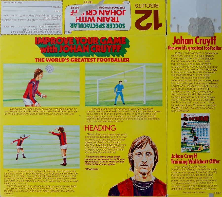 1974 Shredded Wheat Johan Cruyff Improve your game & poster (2)