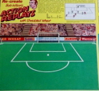 1970s Shredded Wheat Stick n Lift Action Replay Footballers  Gi
