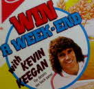 1970s Shredded Wheat Win a Weekend with Kevin Keegan1 small
