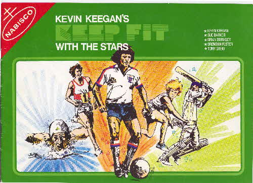 1977 Shredded Wheat Kevin Keegan Keep Fit with the Stars album