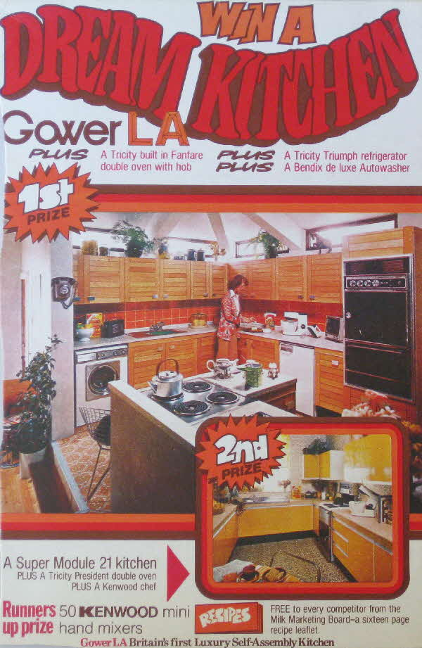 1970s Shredded Wheat Win a Dream Kitchen