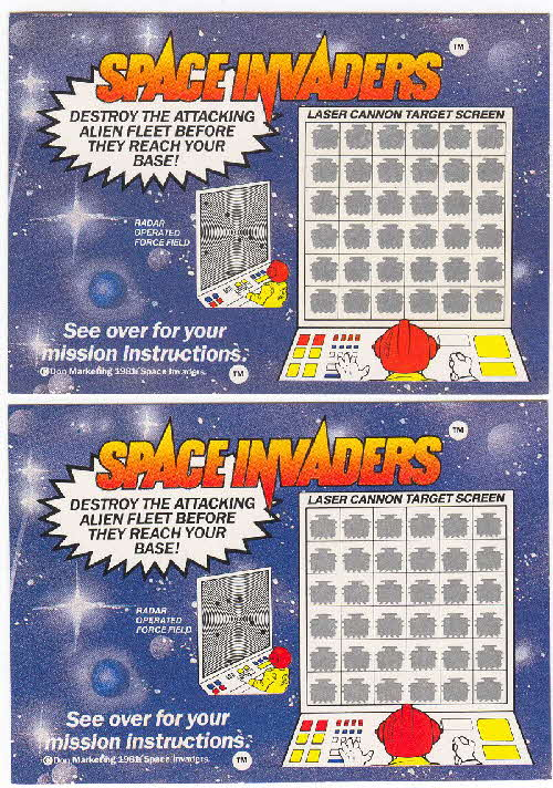 1982 Shredded Wheat Space Invaders