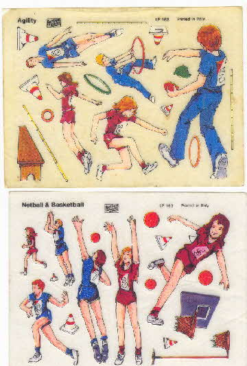 1981 Shredded Wheat Super Kids Action transfers