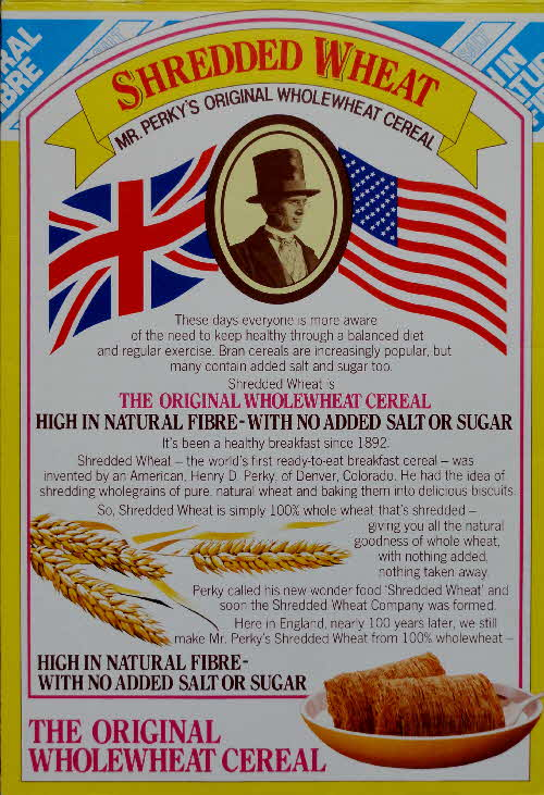 1988 Shredded Wheat Healthy Quiz Cards