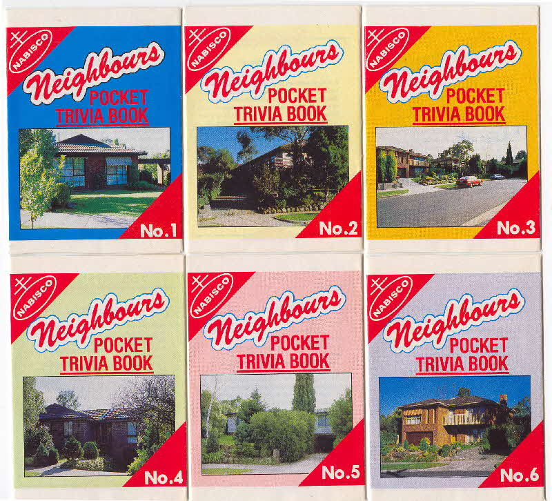 1988 Shredded Wheat Neighbours Trivia book1