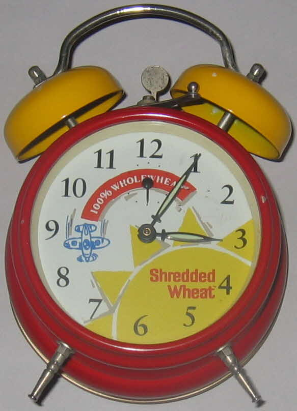 Shredded Wheat alarm clock