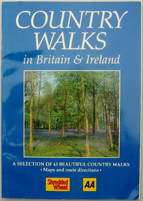 1993 Shredded Wheat Country Walks book