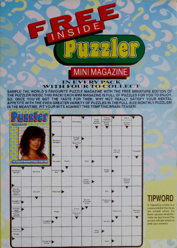 1990 Shredded Wheat Mini Puzzler Magazine  (1)
