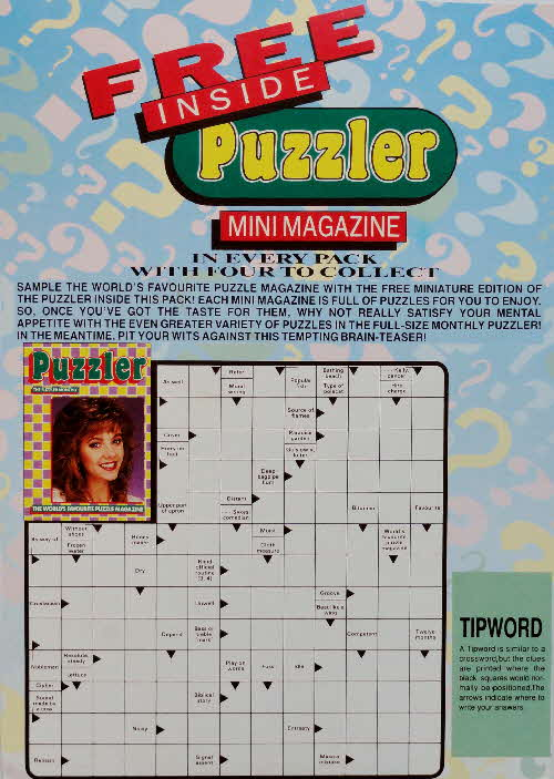 1990 Shredded Wheat Mini Puzzler Magazine  (4)