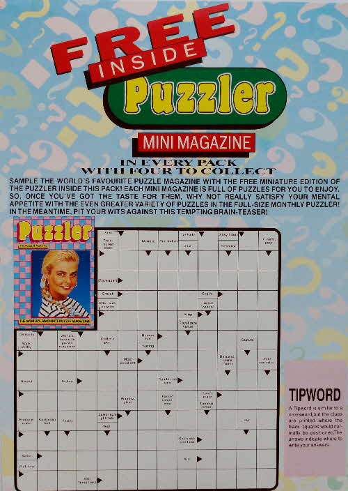 1990 Shredded Wheat Mini Puzzler Magazine  (5)