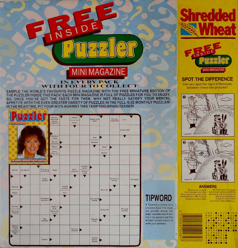 1990 Shredded Wheat Mini Puzzler Magazine  (6)