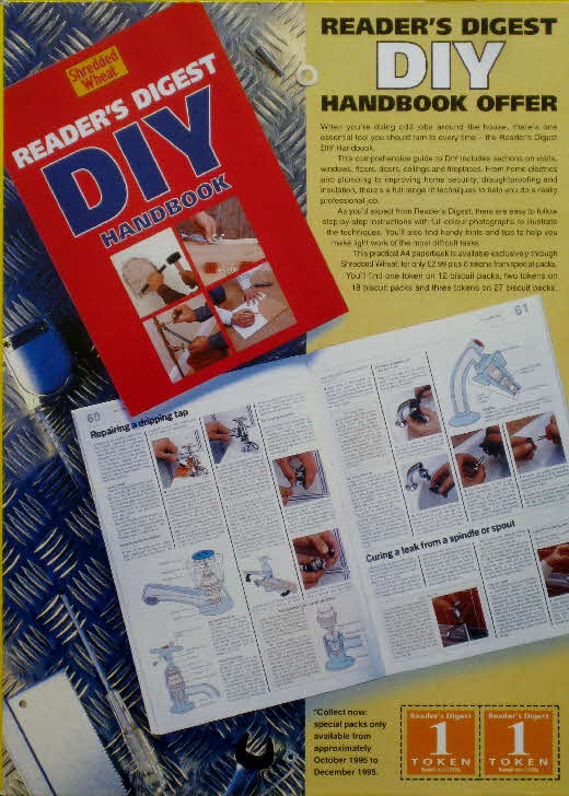 1994 Shredded Wheat DIY Handbook