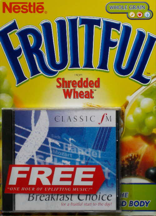 1998 Shredded Wheat Fruitful Classic CD front