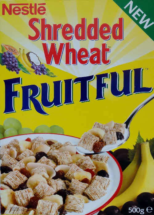 1995 Shredded Wheat Fruitiful New Noticeboard Offer front