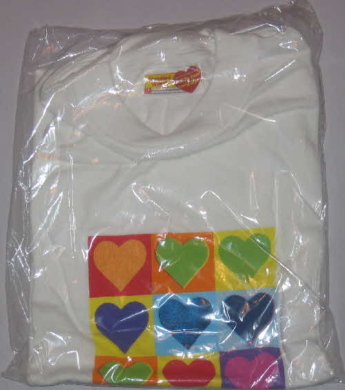 2005 Shredded Wheat Healthy Heart T Shirt