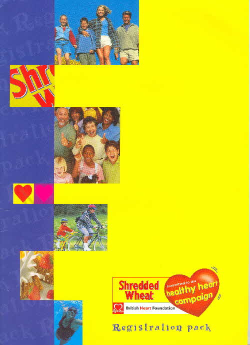 2005 Shredded Wheat Healthy Heart pack