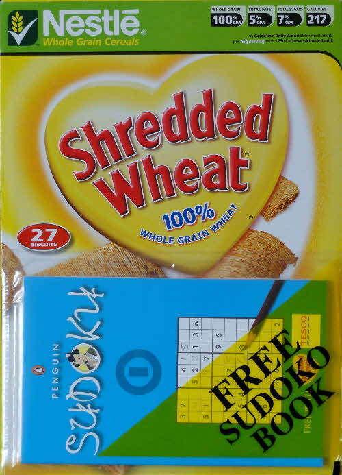 2006 Shredded Wheat Sudoku Book 1 front