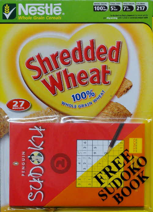 2006 Shredded Wheat Sudoku Book 2 front