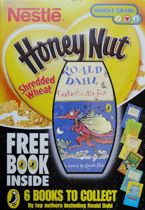2004 Shredded Wheat Honey Nut Puffin Books front (1)