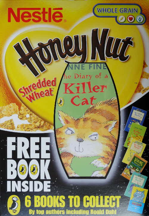 2004 Shredded Wheat Honey Nut Puffin Books front (2)
