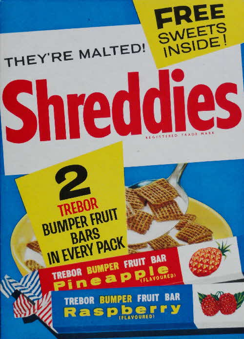 1960s Shreddies Free 2 Trebor Bumper Fruit Bars (1)