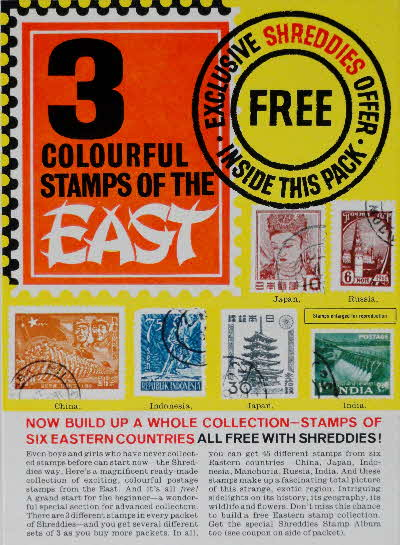 1960s Shreddies Stamps of the East & Album offer (1)