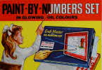 1965 Shreddies Paint by Numbers Set1