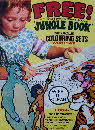 1969 Shreddies Jungle Book Colouring Set