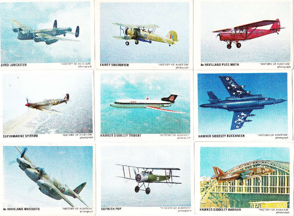 1970s Shreddies Famous Planes (2)