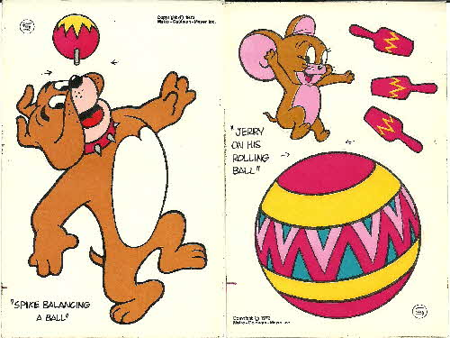 1973 Shreddies Tom & Jerry Jumbo Sticker (1)1