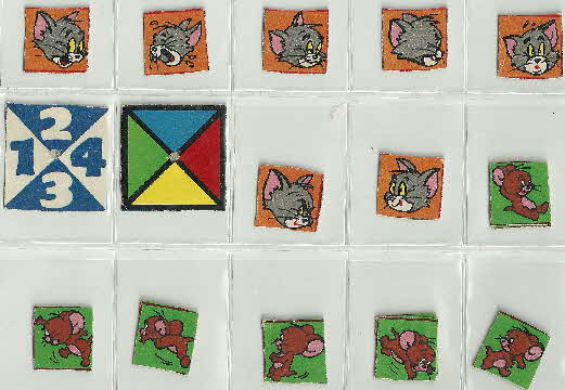 1972 Shreddies Tom & Jerry Bingo Game (1)