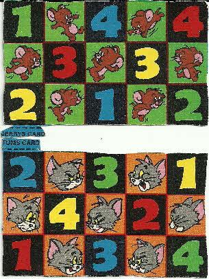 1972 Shreddies Tom & Jerry Bingo Game (2)