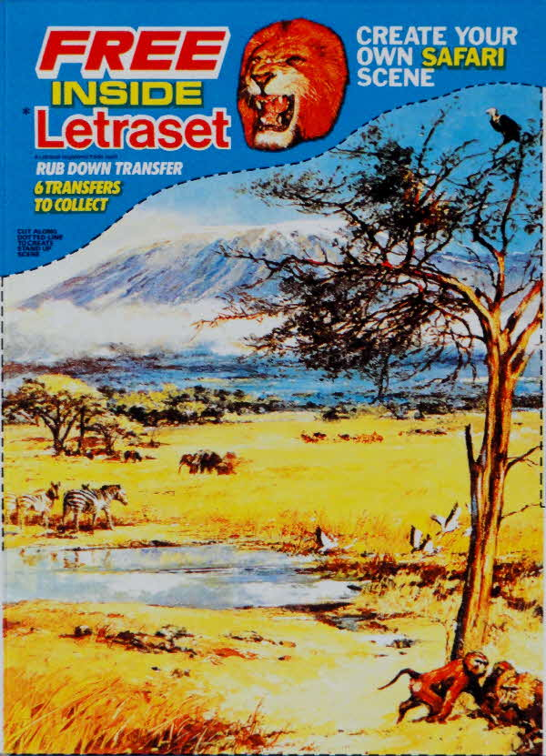 1976 Shreddies Safari Letraset (1)