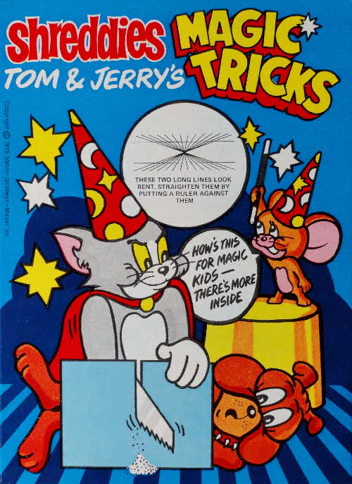 1975 Shreddies Tom & Jerry Magic Tricks No (1)