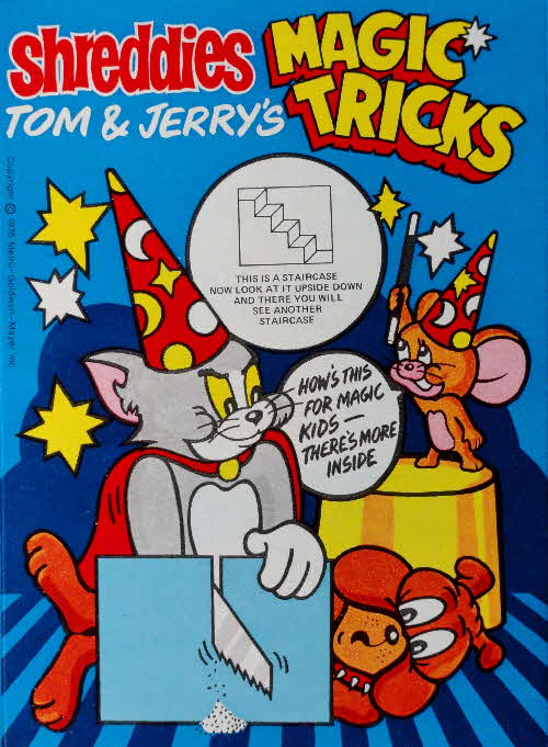 1975 Shreddies Tom & Jerry Magic Tricks No (2)