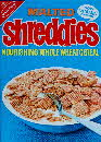 1971 Shreddies Nourishing cereal - front & back same