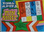 1974 Shreddies Tom & Jerry Fun Sheet 1 front1