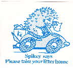 1976 Shredded Wheat Spoonsize Spikey's Sticker (2)1 small